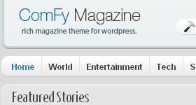 Wordpress theme Comfy