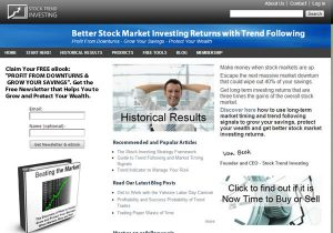 Drupal cms for a stock investing website