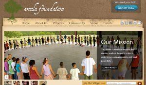 Nonprofit Website Alama Foundation