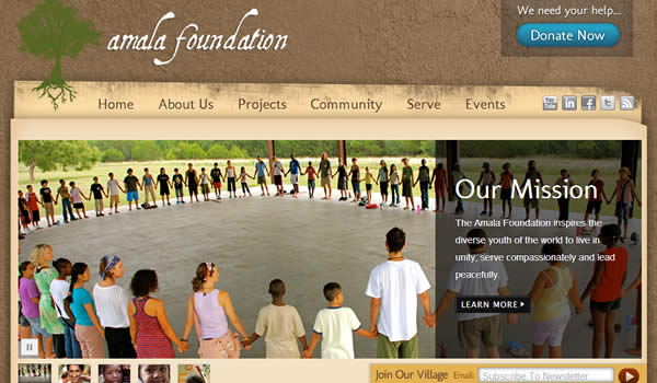 Nonprofit Website Alama Foundation