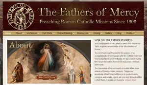 Non profit Catholic website