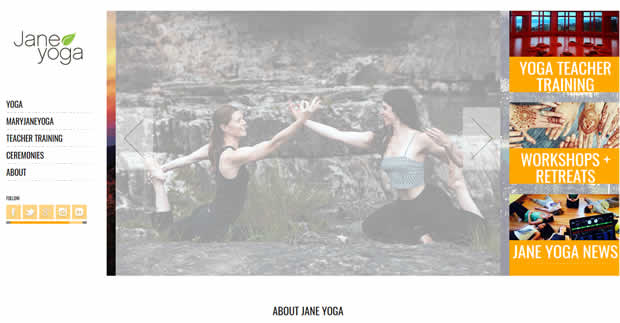 yoga jane website