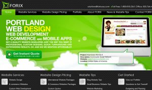 Joomla Webdesign in Portland