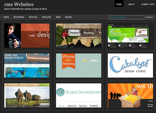 cms Website Design Showcase