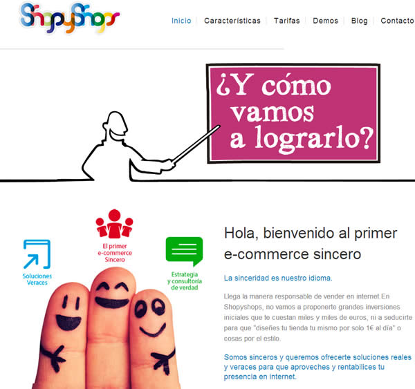 Ecommerce web designer with WordPress in Madrid Spain