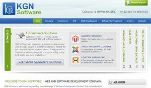 Web developers KGN builds Website software in India