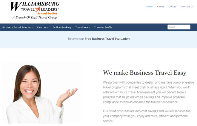 business travel website