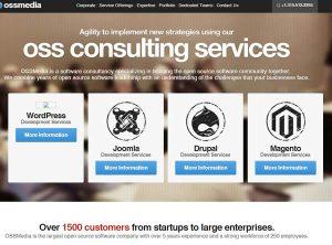 Ossmedia is a cms developer designer for WordPress, Joomla, Drupal and Magneto.