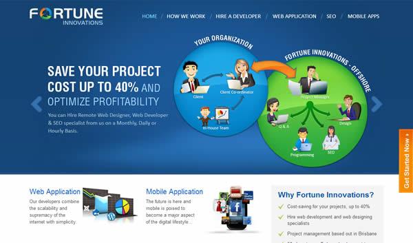 Brisbane mobile web design Company