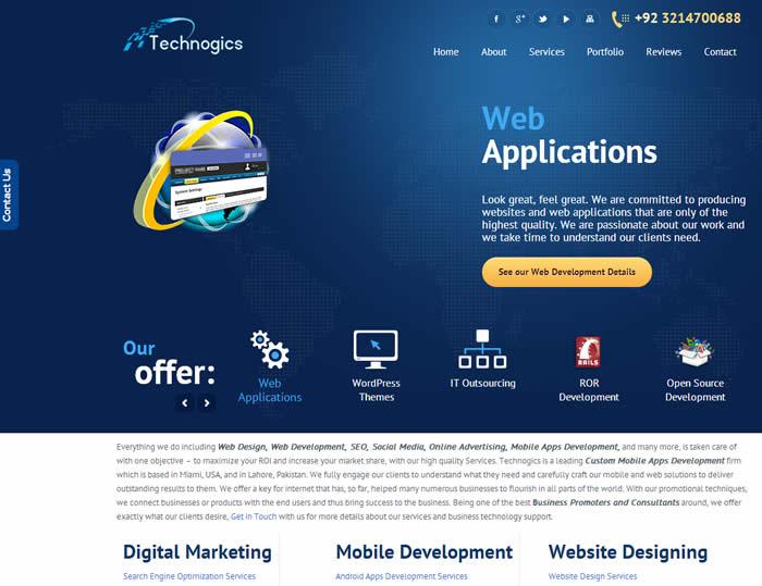 Tecnhnogics WordPress Web Design and Development Services
