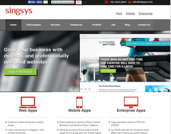 Singapore Mobile Design