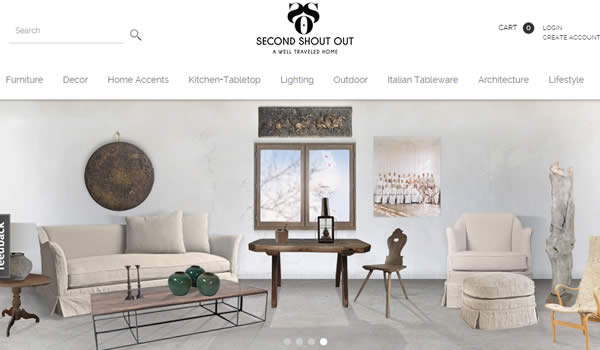 Furniture ecommerce website in Drupal