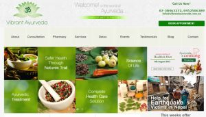 Ayurveda WordPress by Aussie IT group