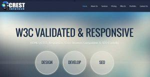Crest web design seo