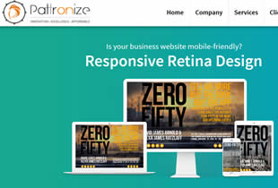 pattronize web design