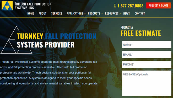 turnkey fall protection