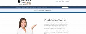 Williamsburg travel management website