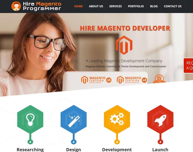 hire a magento programer