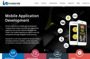Inwizards mobile apps