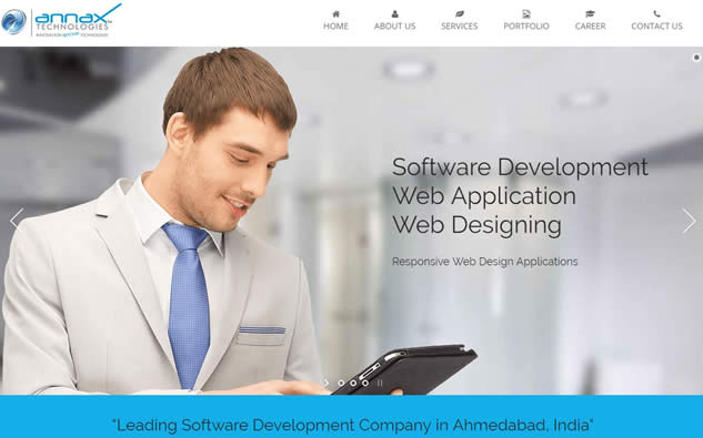 annax wordpress web design