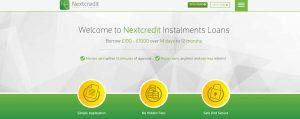 next credit website