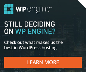wWP Engine WordPress hosting
