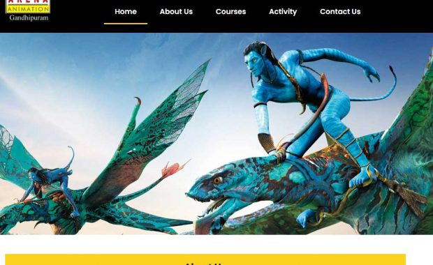 Arena Animation offers courses in Coimbatore