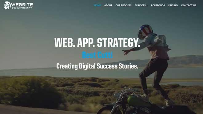 Website Development TV